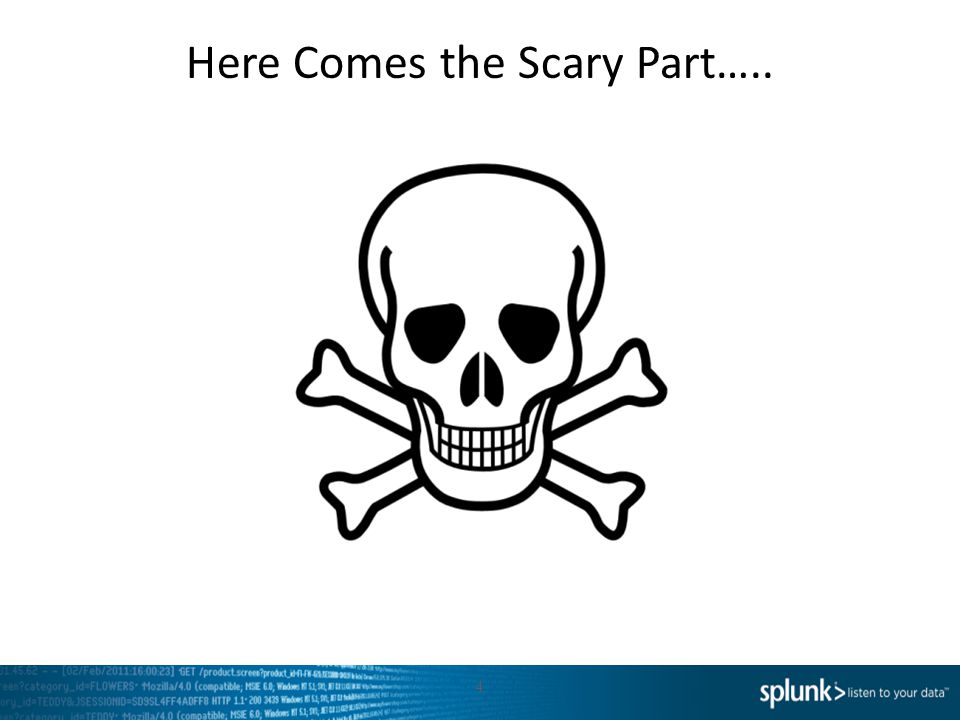 Here Comes the Scary Part…..