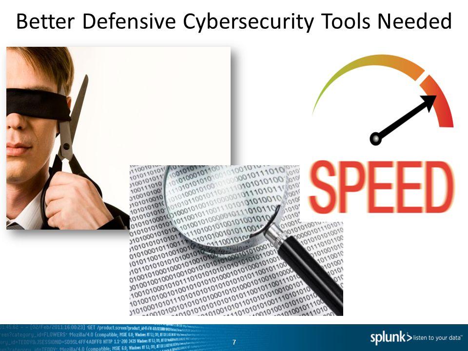 Better Defensive Cybersecurity Tools Needed