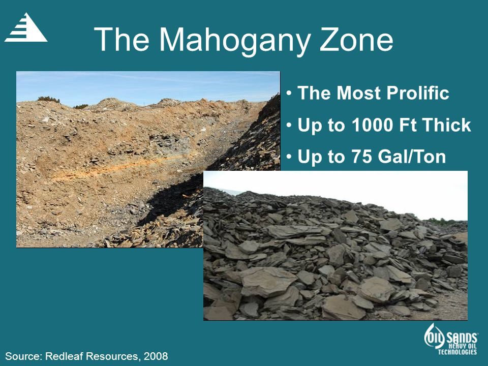 The Mahogany Zone The Most Prolific Up to 1000 Ft Thick