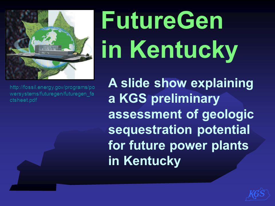 FutureGen in Kentucky