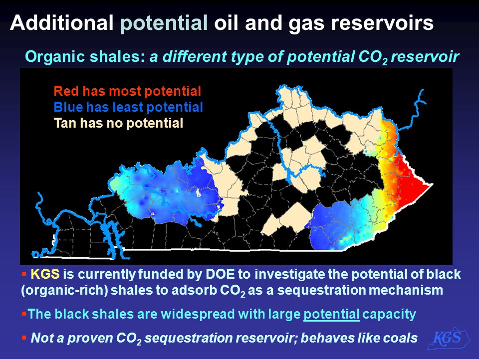 Additional potential oil and gas reservoirs