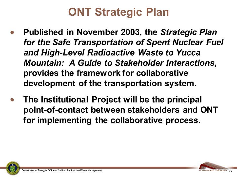 ONT Strategic Plan