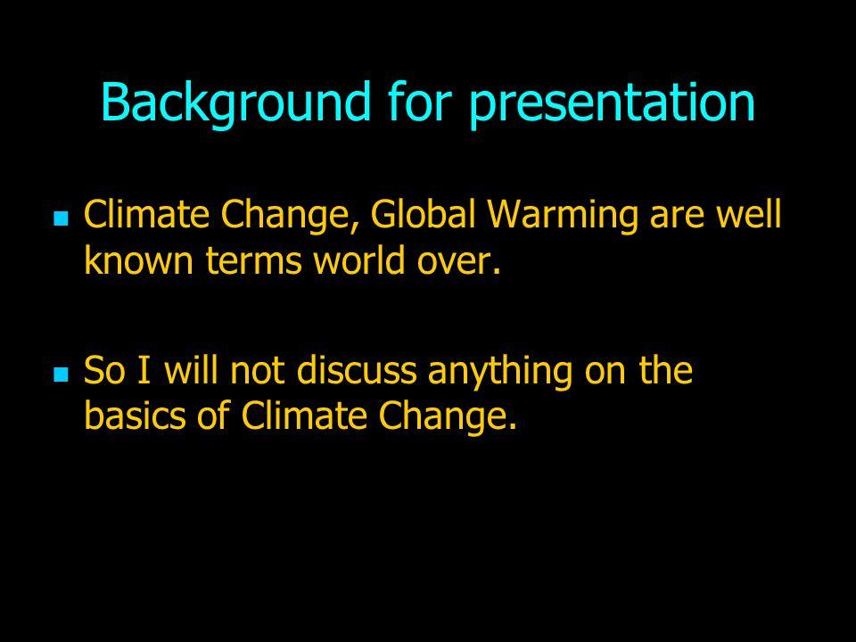 Background for presentation