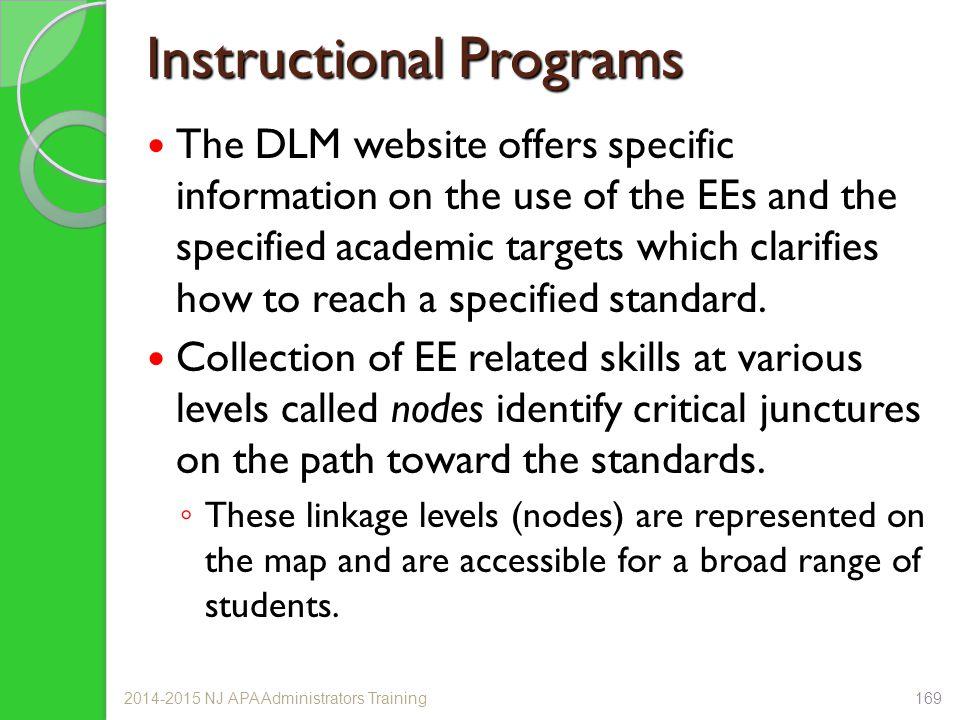 Instructional Programs