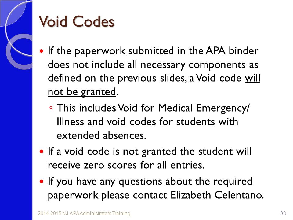 Void Codes