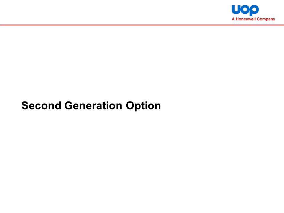 Second Generation Option