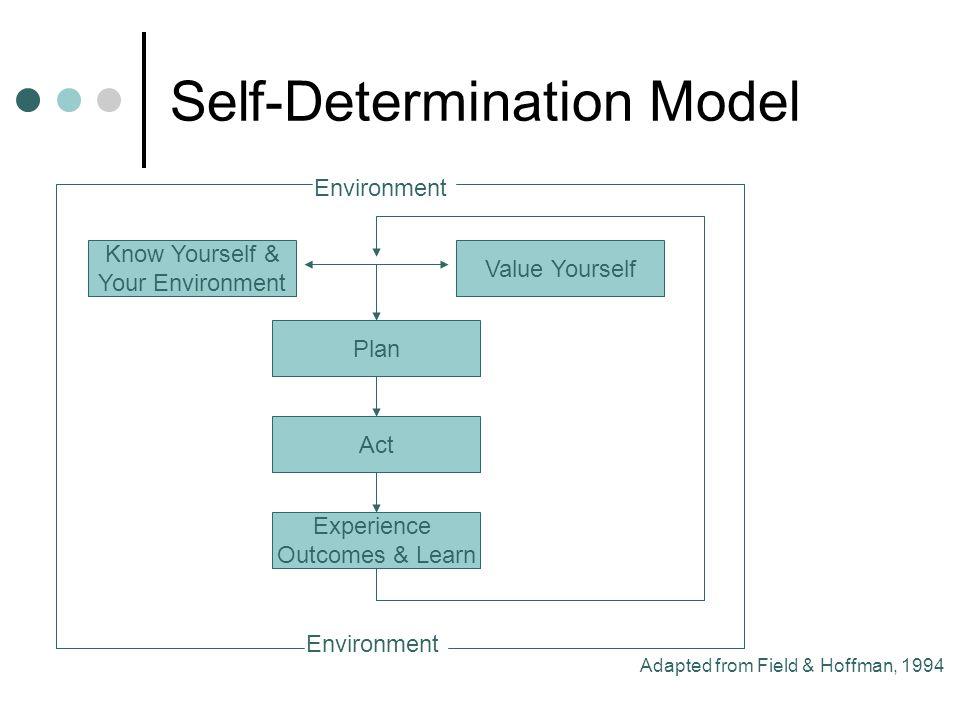 Self-Determination Model