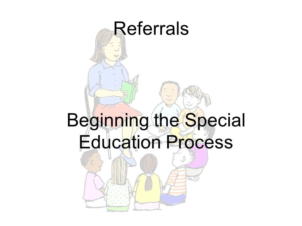 Beginning the Special Education Process