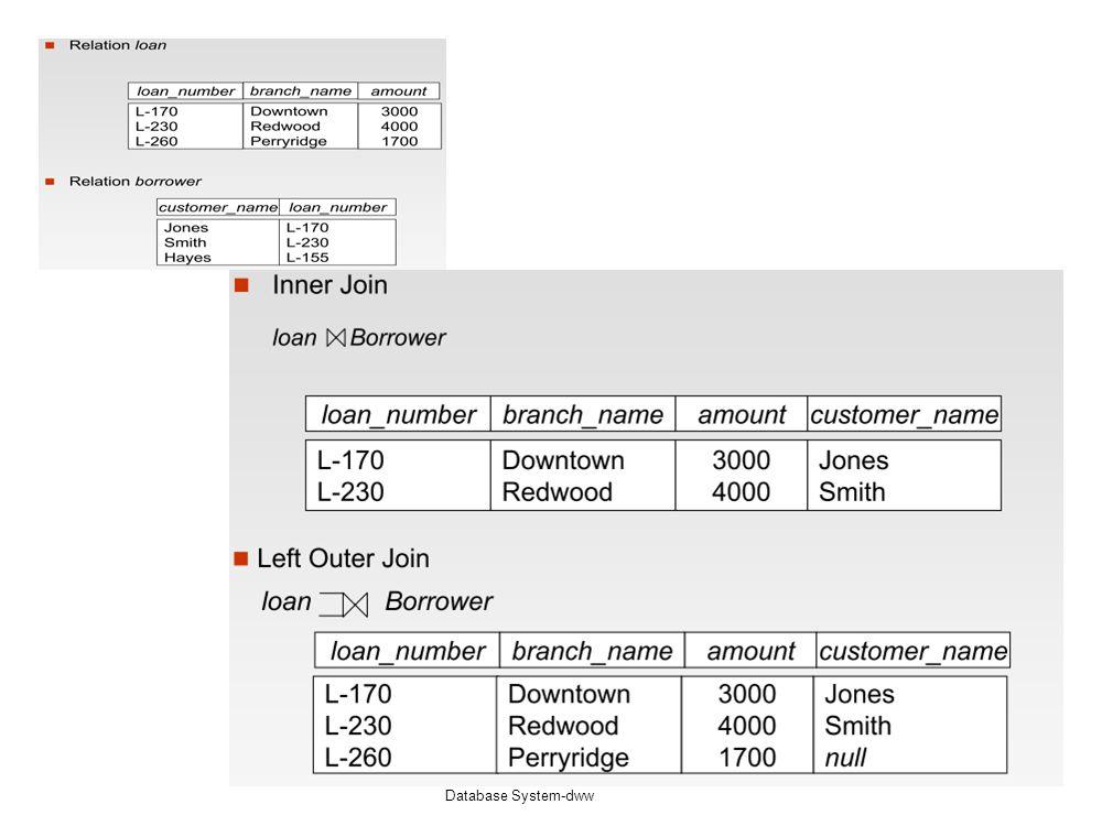 Database System-dww