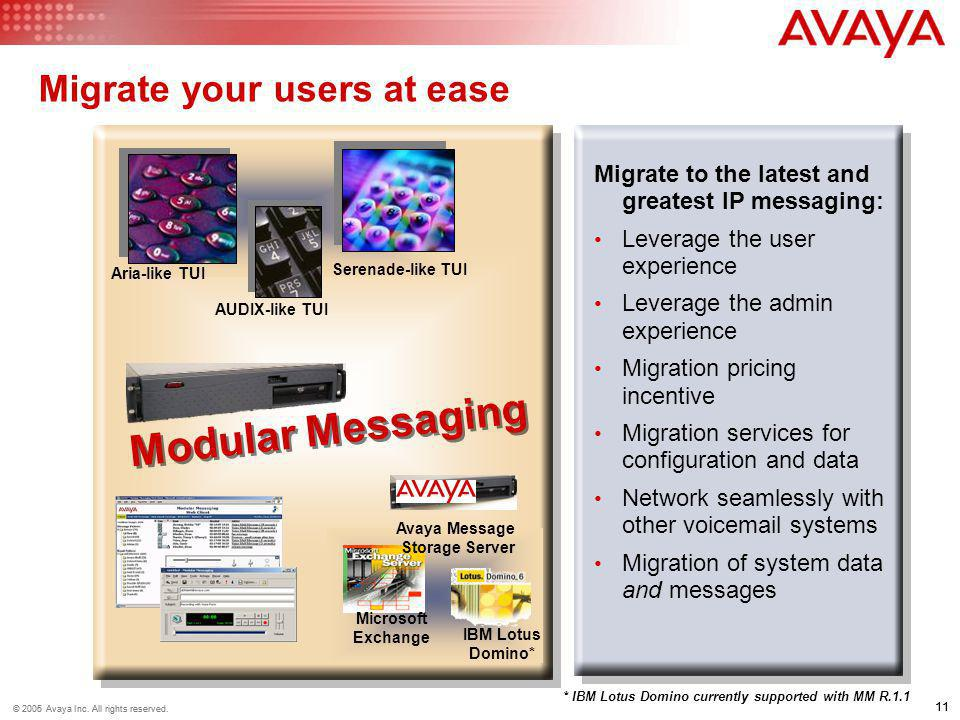 Migrate your users at ease