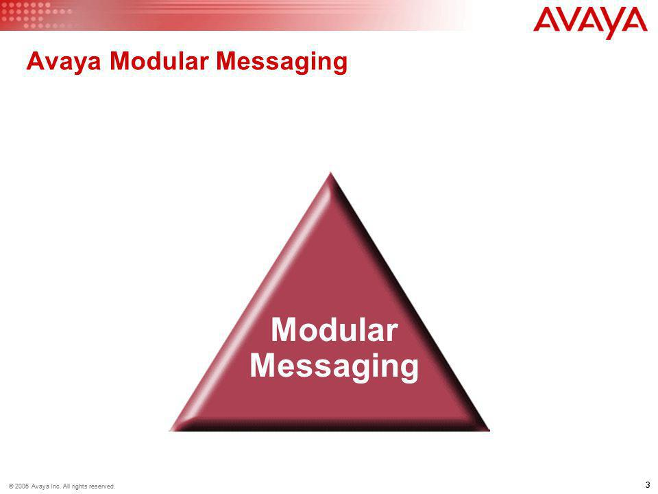Avaya Modular Messaging