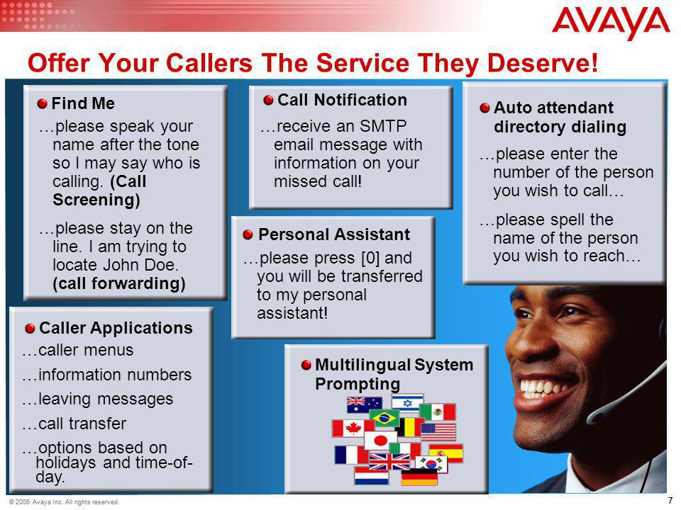 Offer Your Callers The Service They Deserve!