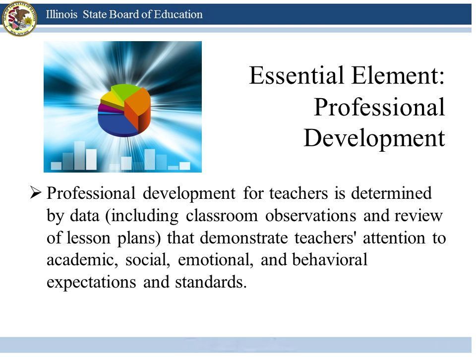 Essential Element: Professional Development