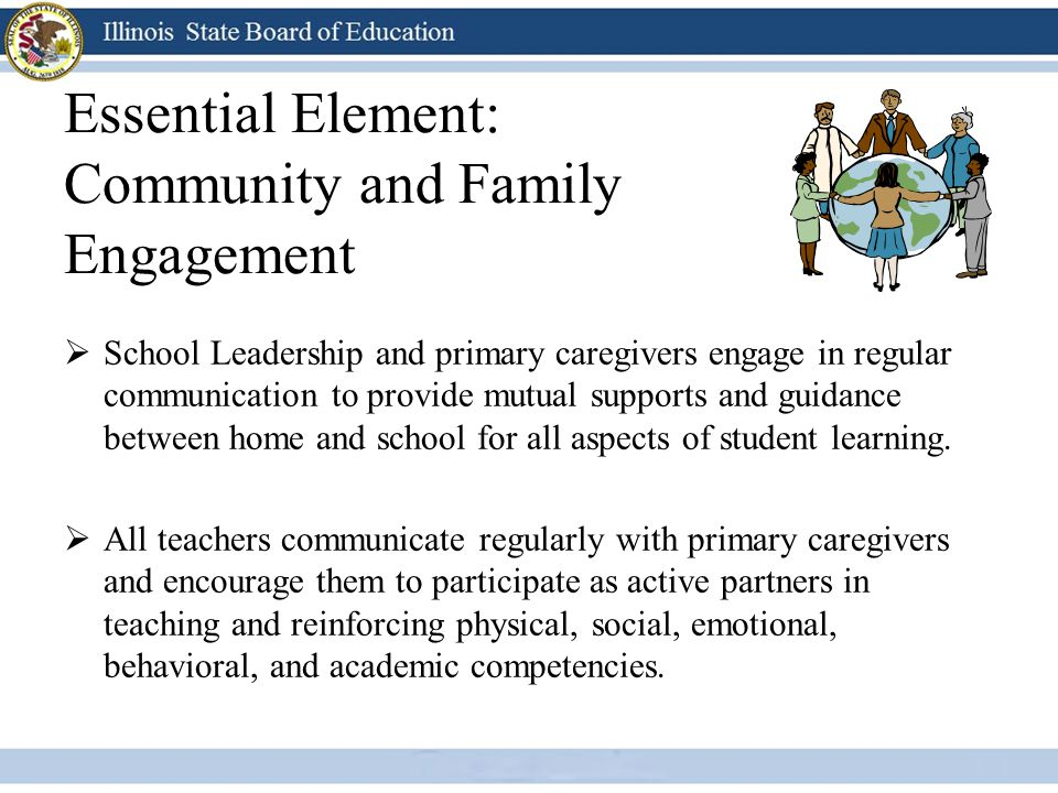 Essential Element: Community and Family Engagement
