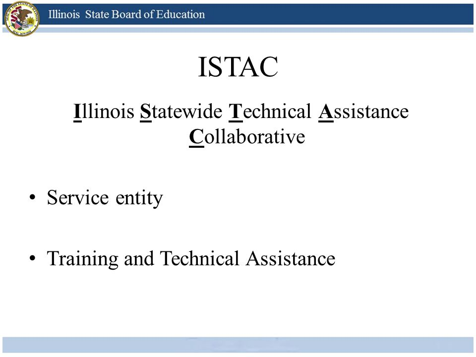 Illinois Statewide Technical Assistance Collaborative