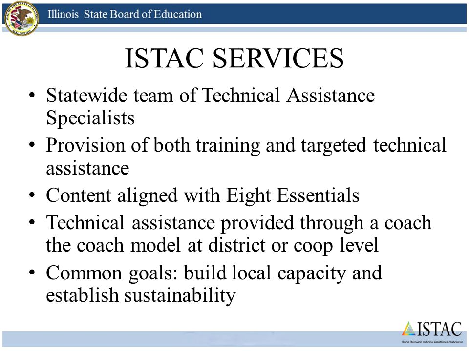 ISTAC SERVICES Basic FBA/BSP