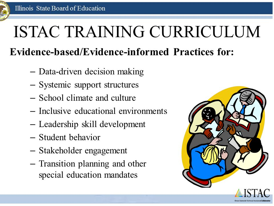 ISTAC TRAINING CURRICULUM