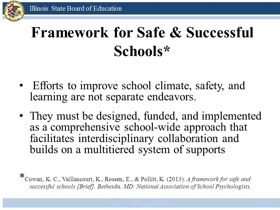 Framework for Safe & Successful Schools*