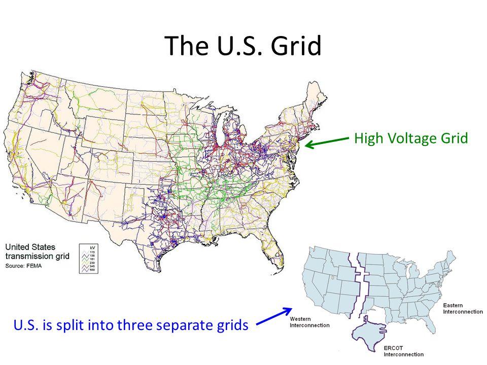 The U.S. Grid High Voltage Grid