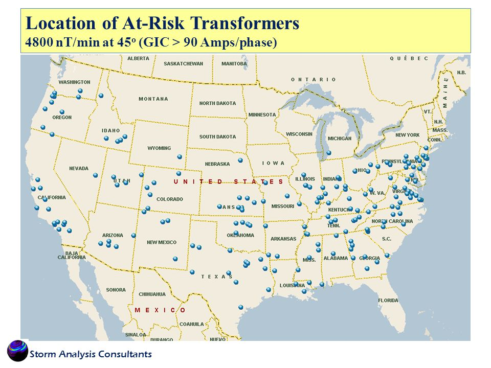 Location of At-Risk Transformers