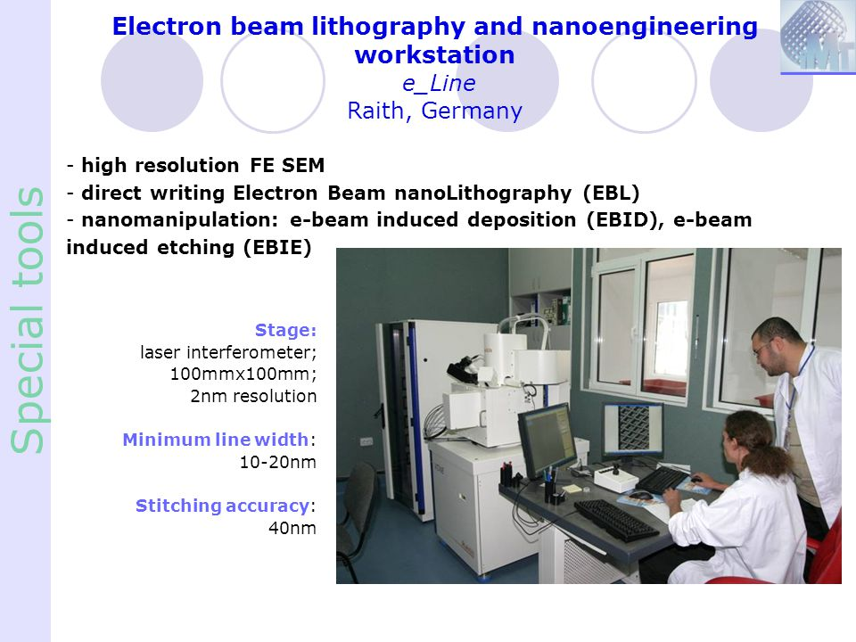 Electron beam lithography and nanoengineering workstation