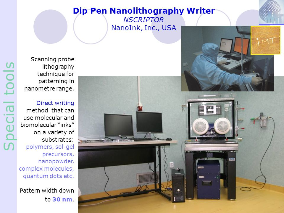 Dip Pen Nanolithography Writer