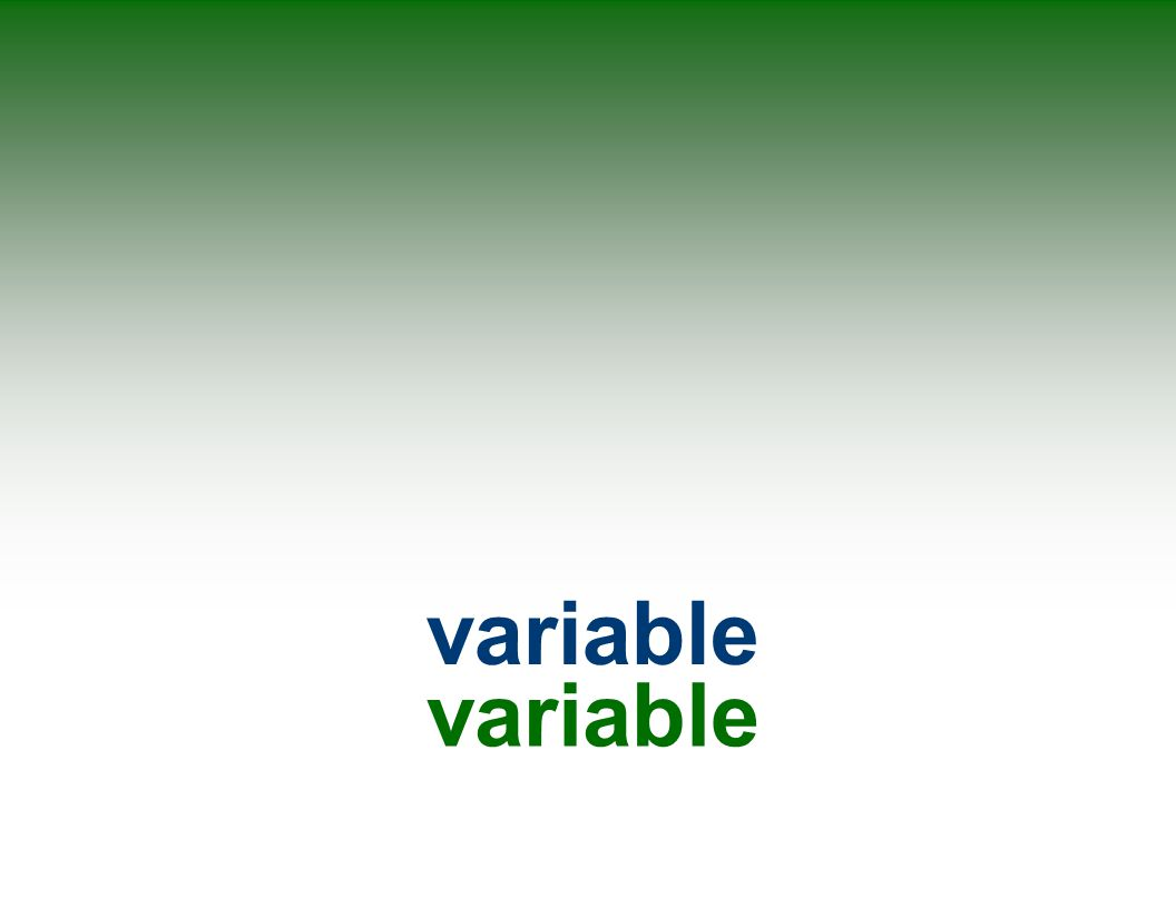 variable variable