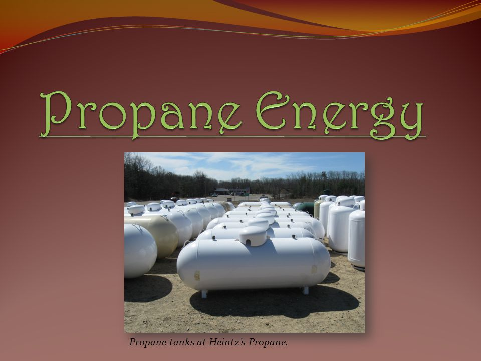 Propane Energy Propane tanks at Heintz's Propane.