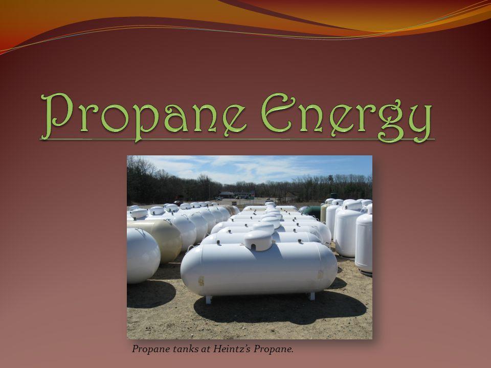Propane Energy Propane tanks at Heintz's Propane.