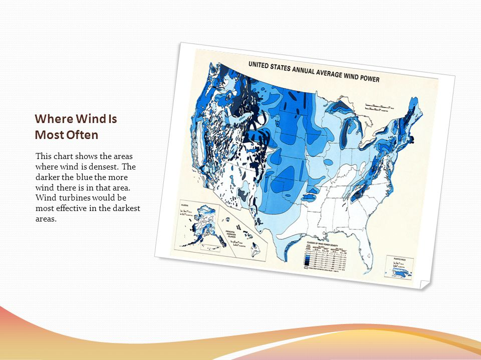 Where Wind Is Most Often