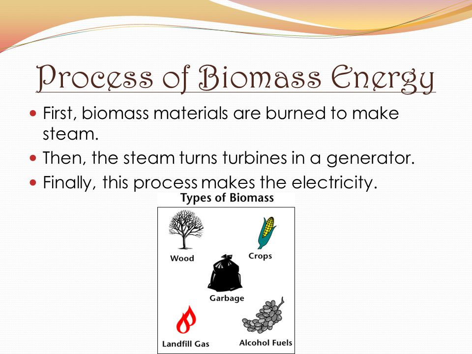Process of Biomass Energy