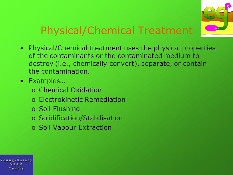 Physical/Chemical Treatment