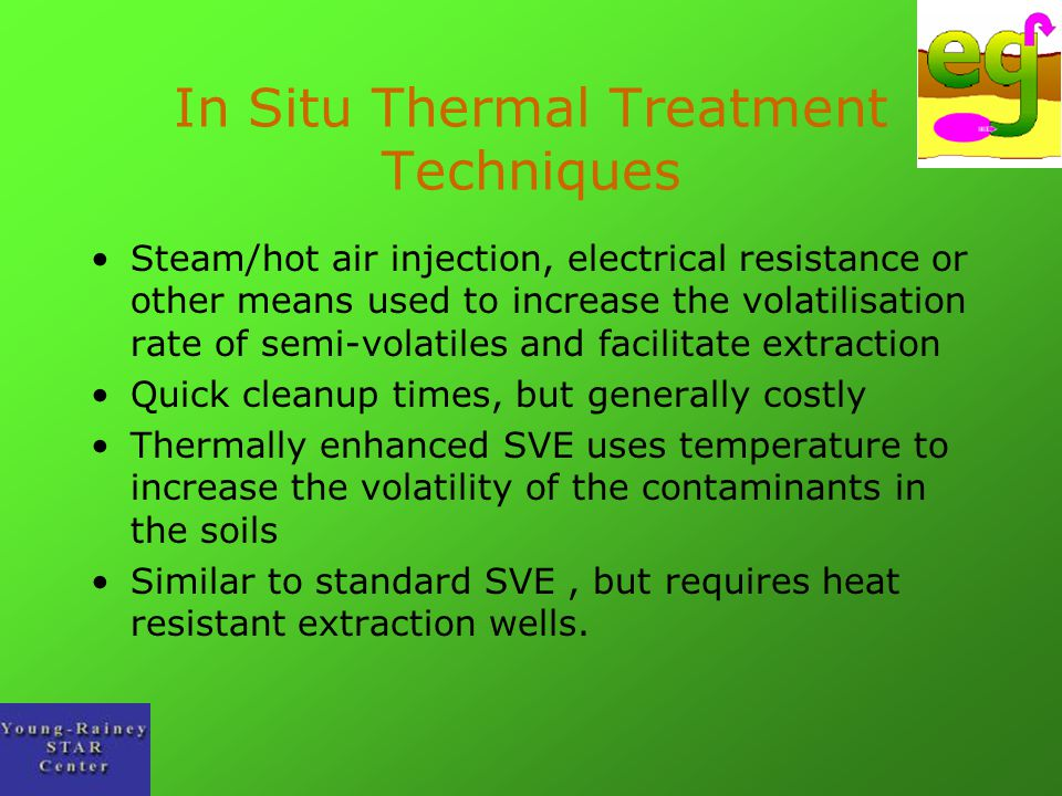 In Situ Thermal Treatment Techniques