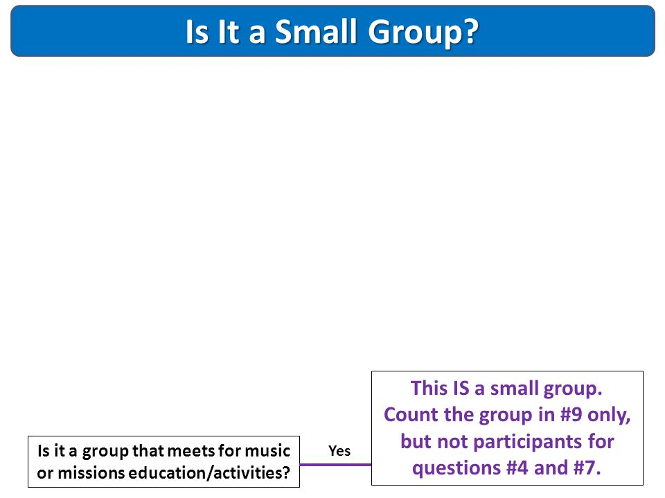 Is it a group that meets for music or missions education/activities