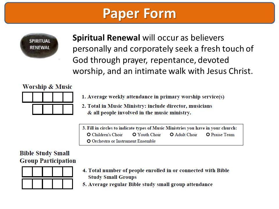 Paper Form
