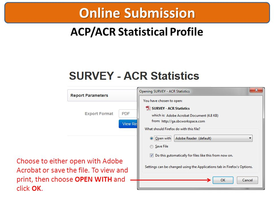 ACP/ACR Statistical Profile