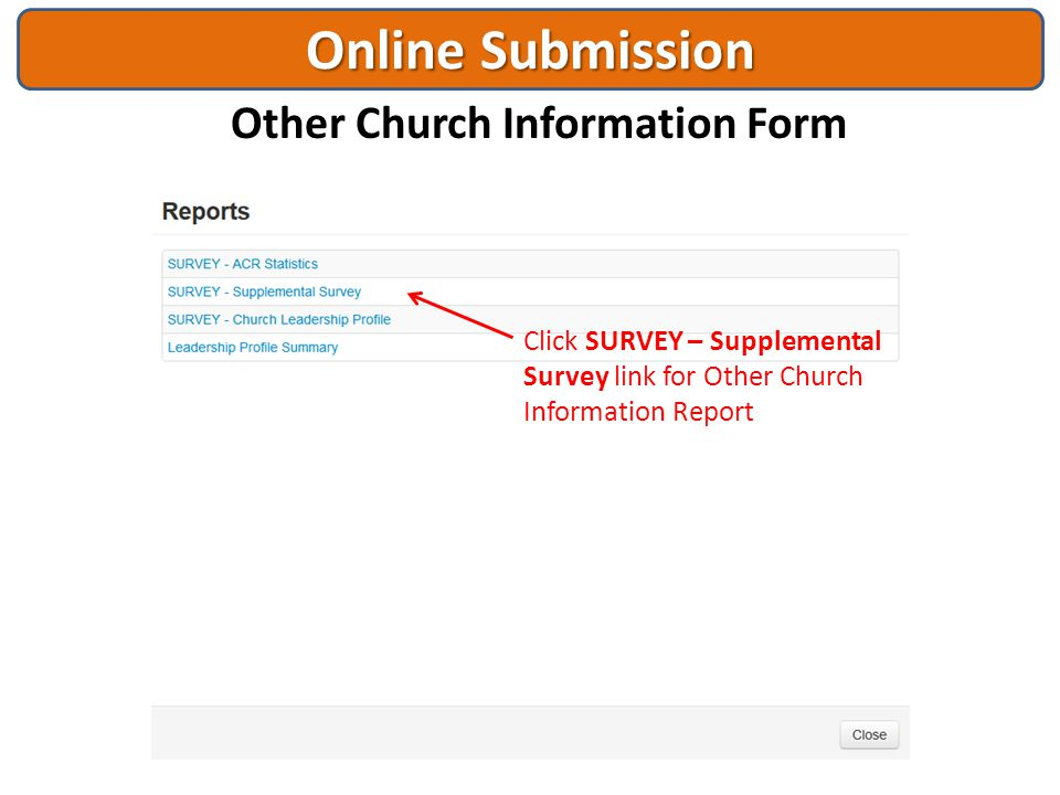 Other Church Information Form