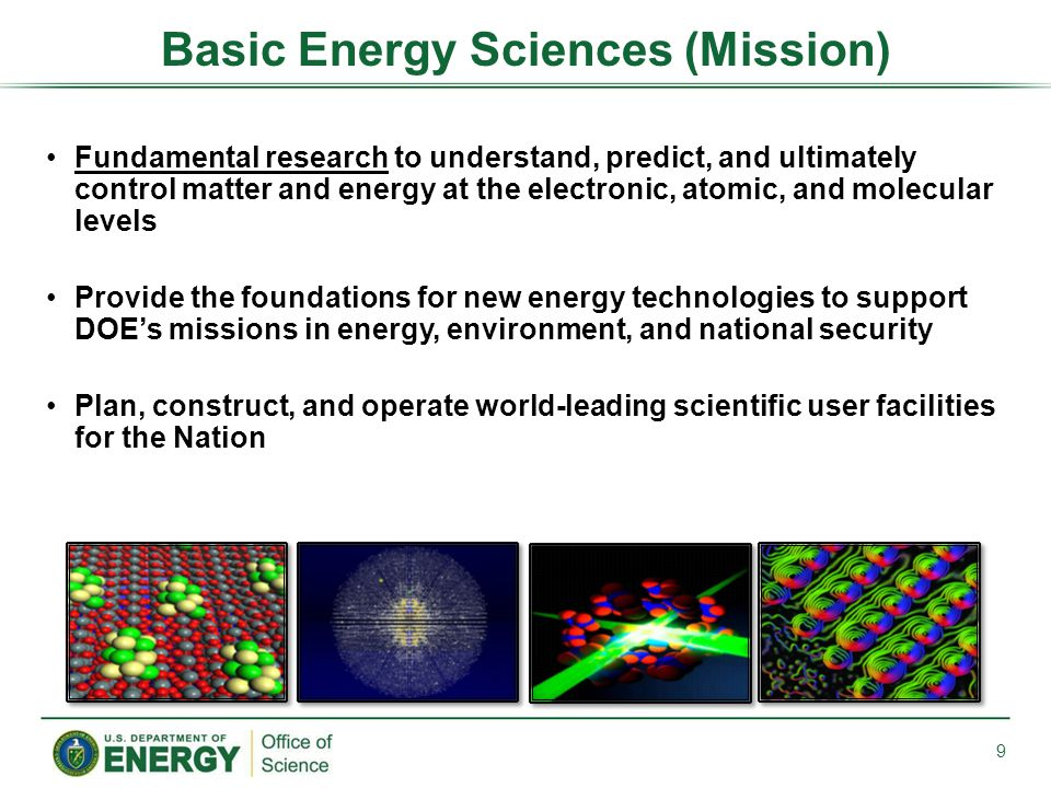 Basic Energy Sciences (Mission)