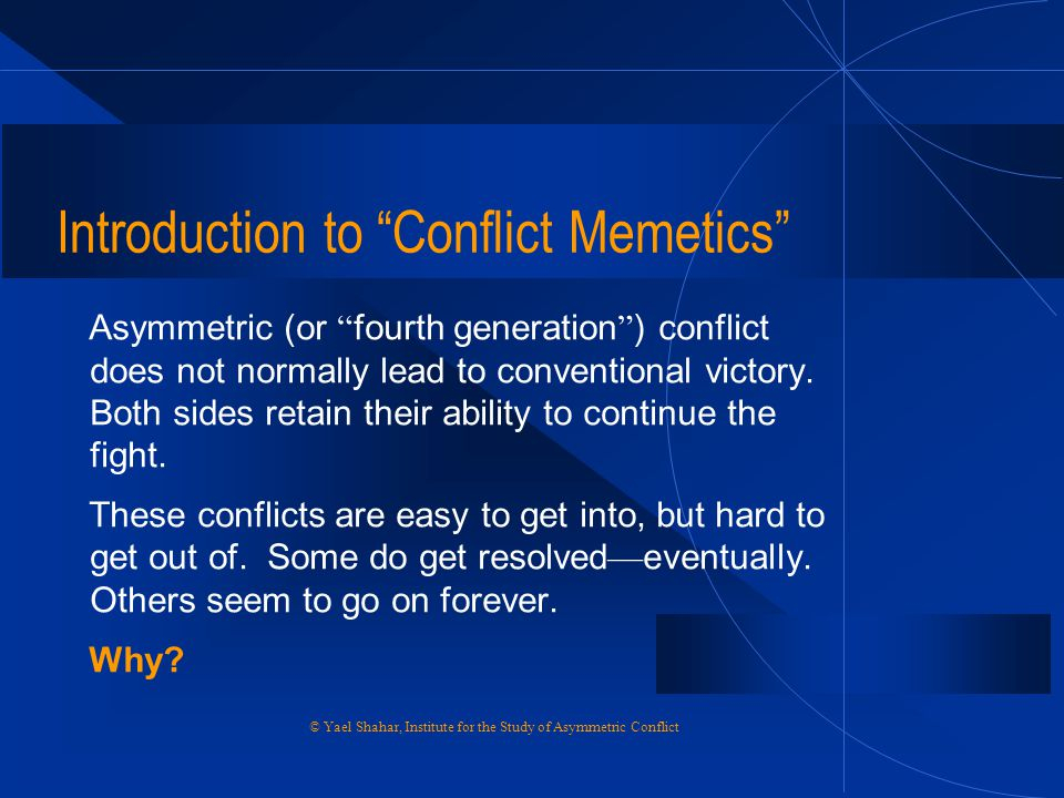 Introduction to Conflict Memetics