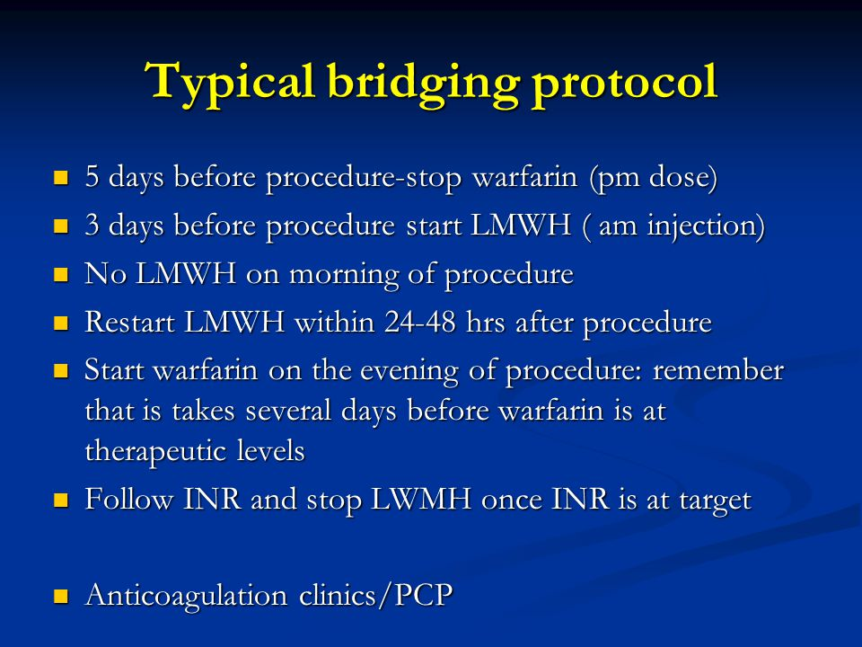 Typical bridging protocol