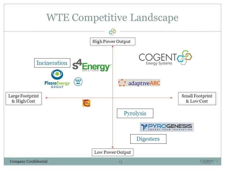 WTE Competitive Landscape