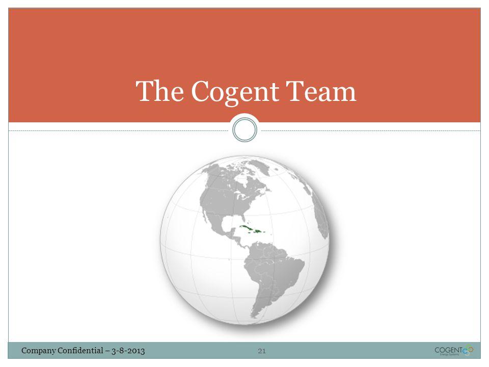 The Cogent Team