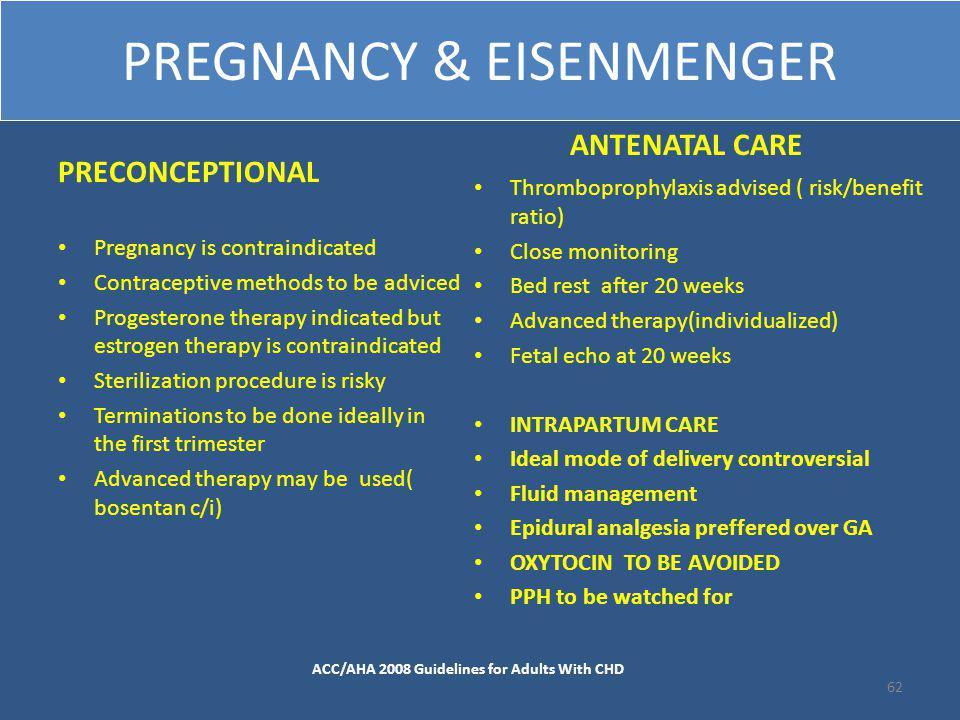 PREGNANCY & EISENMENGER