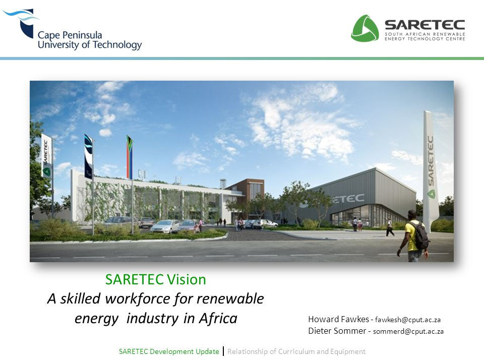 A skilled workforce for renewable energy industry in Africa
