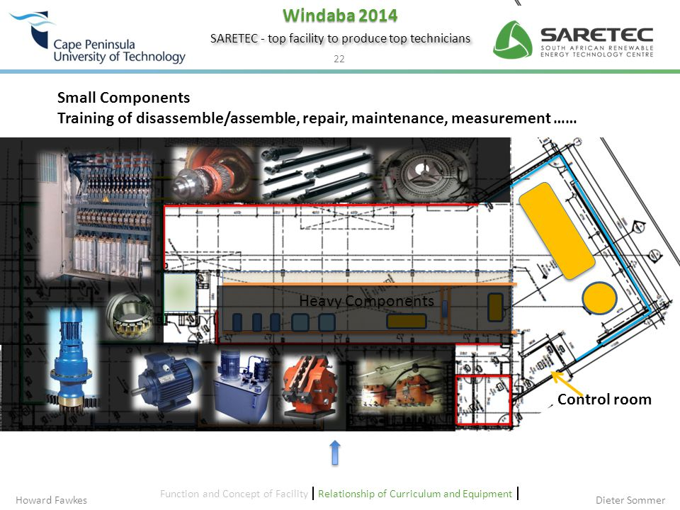 Project Update – Building Design – SARETEC Ground Floor