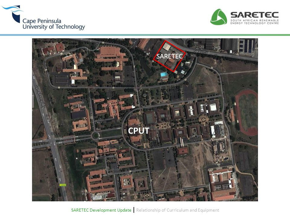SARETEC Development Update  Relationship of Curriculum and Equipment