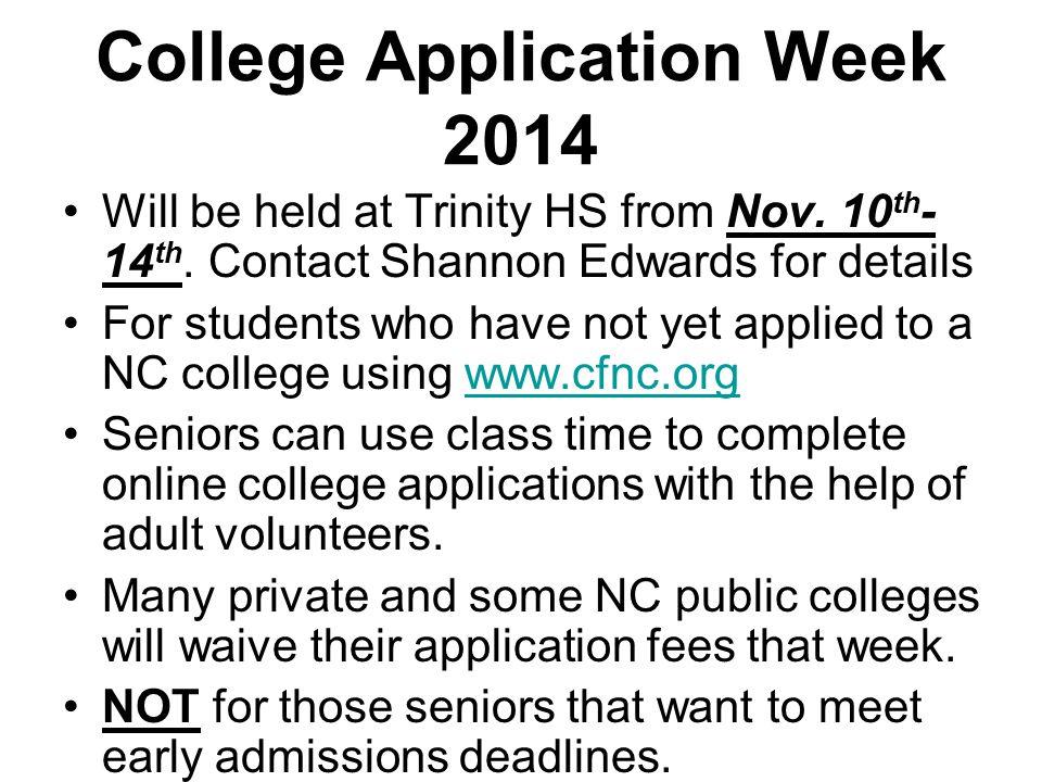 College Application Week 2014