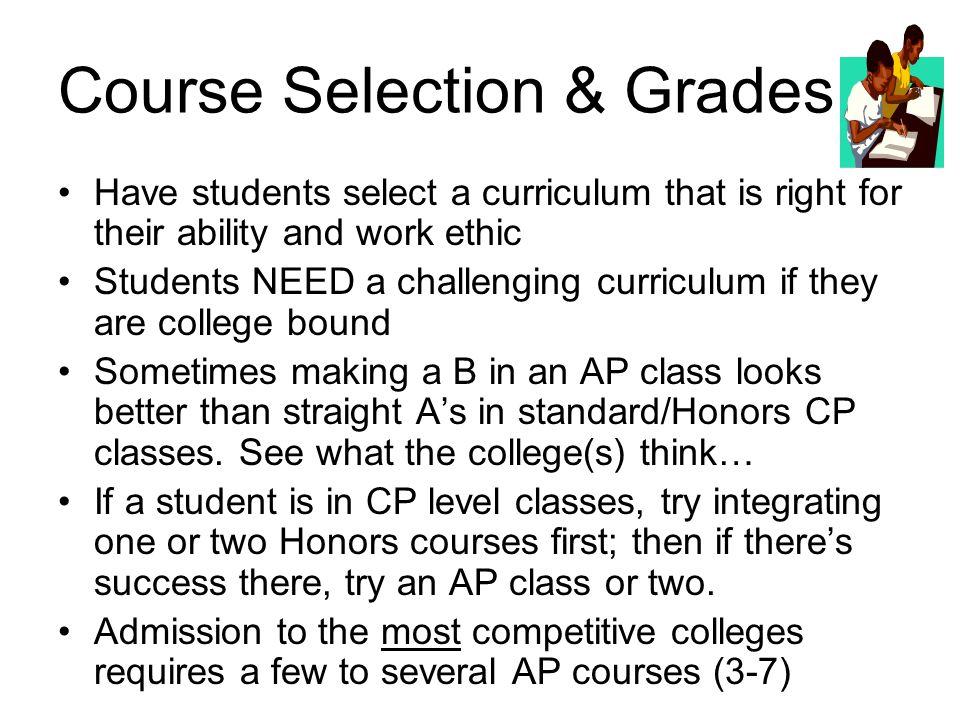 Course Selection & Grades