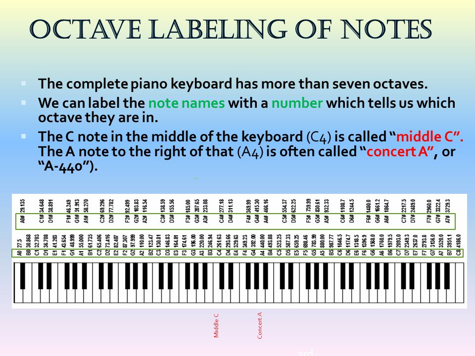 Octave Labeling of Notes