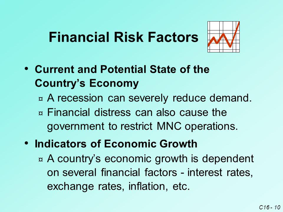 Financial Risk Factors